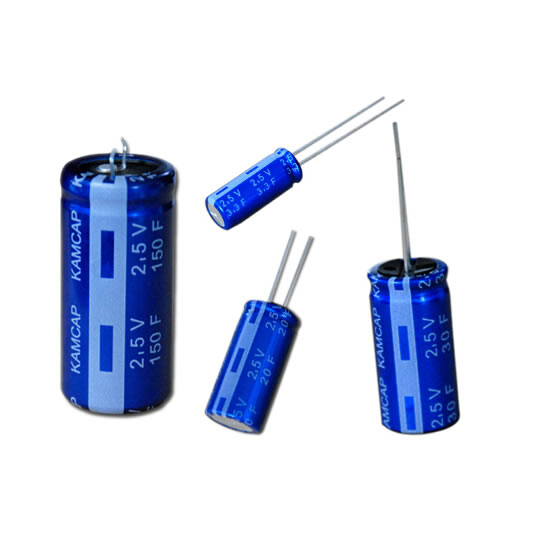 2.5V VOLTAGE WINDING TYPE SUPER CAPACITOR